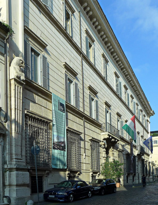 Francesco Borromini. Palazzo Falconieri
