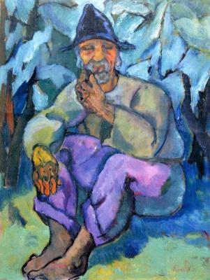 Adalbert Mikhailovich Erdeli. Old gypsy