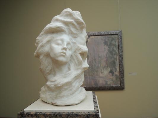 """Anna Semyonovna Golubkina. Vase """"Fog"""""""