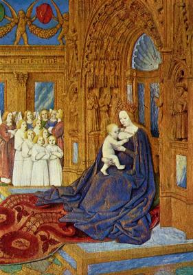 Jean Fouquet. Madonna