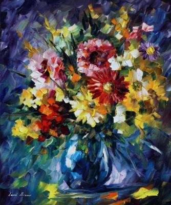 Leonid Afremov. Flowers
