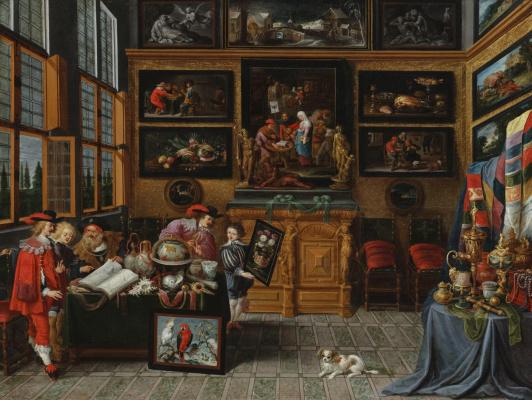 Cornelis de Baellieur. Кабинет коллекционера