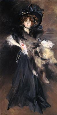 Джованни Больдини. Портрет мадемуазель Лантельме