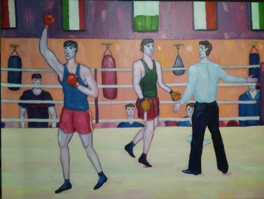 Edward Alexandrovich Bykhovets. Champion