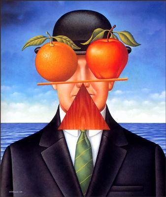 Гэри Оверакр. Апельсин и яблоко