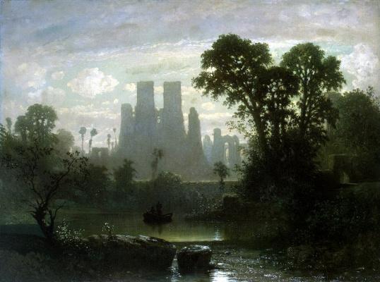 Гильем Виктор ван дер Хехт. Развалины замка Кенилворт