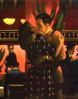 Jack Vettriano. Faithful, first love