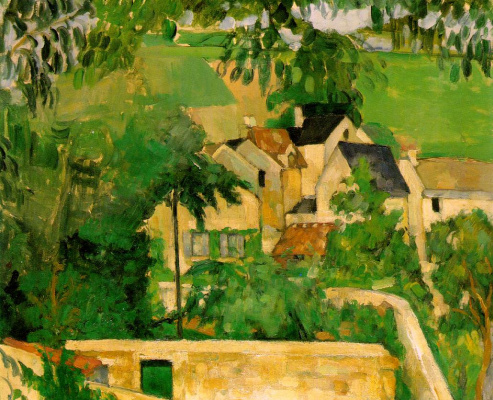 Study landscape at Auvers