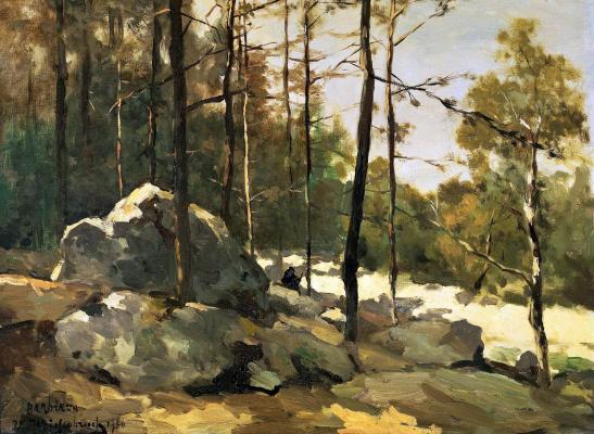 Jan Hendrik Weissenbrook. Forest
