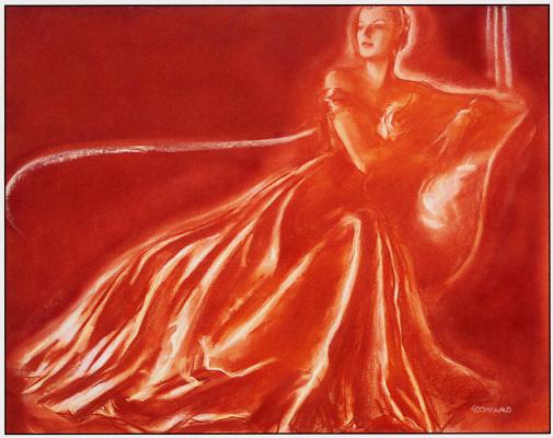 Роберт Леонард. Девушка в длинном платье