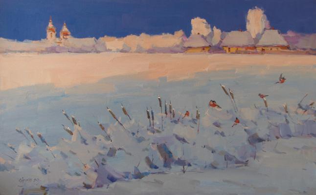 Сергей Ступка. Снегири