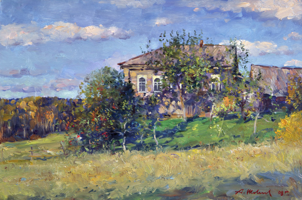 Alexander Victorovich Shevelyov. House Yurchenko.Oil on canvas 35,5 # 53 see 2008