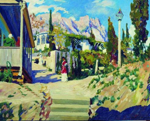 Sergey Arsenievich Vinogradov. Crimean landscape