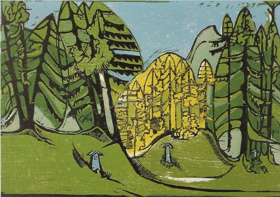Ernst Ludwig Kirchner. Forest