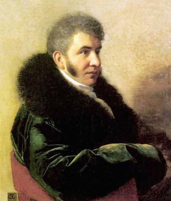 Orest Adamovich Kiprensky. Portrait of Prince Ivan Alekseevich Gagarin