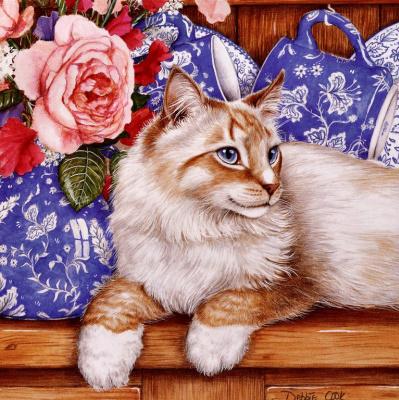 Дебби Кук. Розовая роза