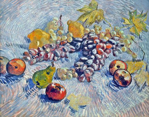 Vincent van Gogh. Still life with fruits