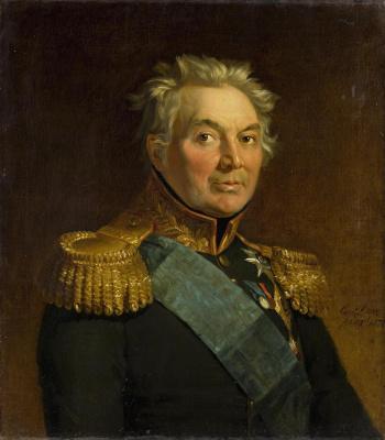 George Dow. Portrait of Fabian Vilhelmovich von der Osten-Sacken