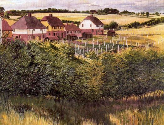 Stanley Spencer. Houses
