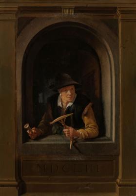 Gerrit (Gerard) Dow. The fisherman's wife
