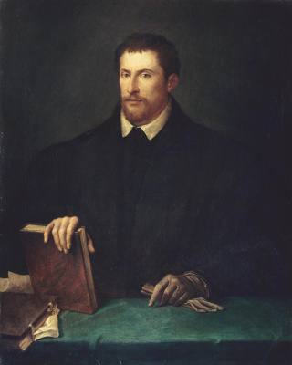 Тициан Вечеллио. Портрет Ипполито Риминальди