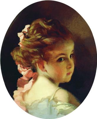 Иван Кузьмич Макаров. Головка девочки. 1890-е