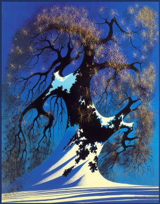 Eivind Earl. Winter bonsai