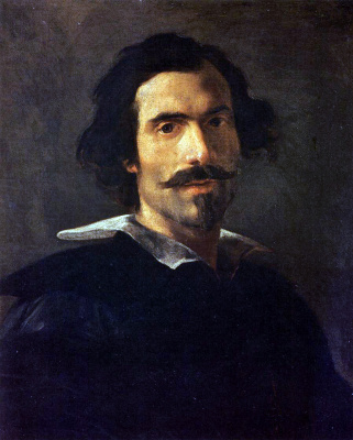 Gian Lorenzo Bernini. Self-portrait in adulthood