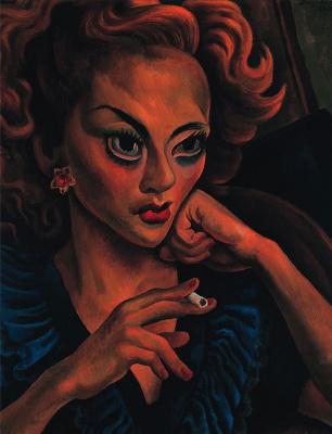 Диего Мария Ривера. Мелани. Портрет актрисы