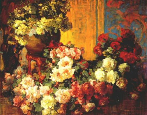 Франз Бишофф. Розы