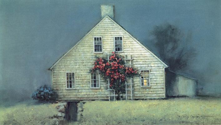 Пол Ландри. Лунный свет и розы