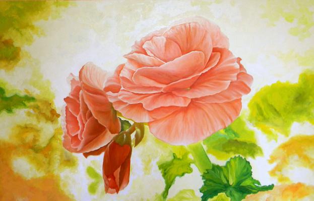 Александра Демидова. Весенний цветок