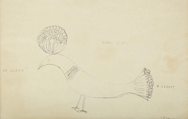 Constantine Brancusi. Bird with tuft