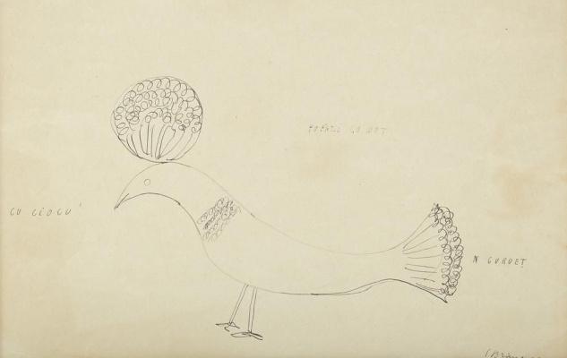 Constantine Brancusi. Bird with tuft