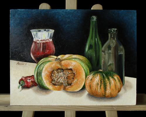 Anna Komovich. Pumpkins