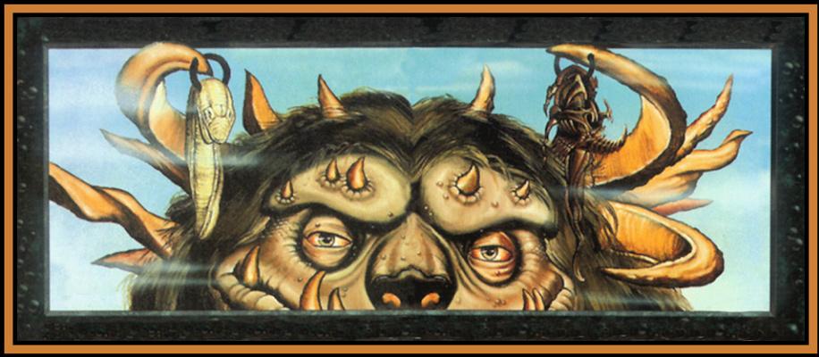 Douglas Schuler. Big and fluffy monster