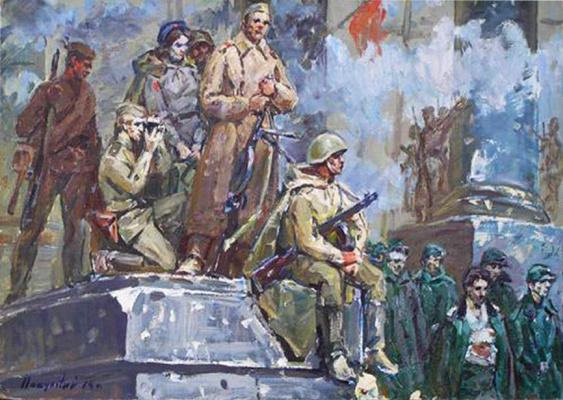 Константин Иванович Покулитый. День победы