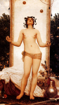 Frederic Leighton. Antique Juggling Girl