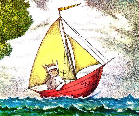 Морис Сендак. Лодка