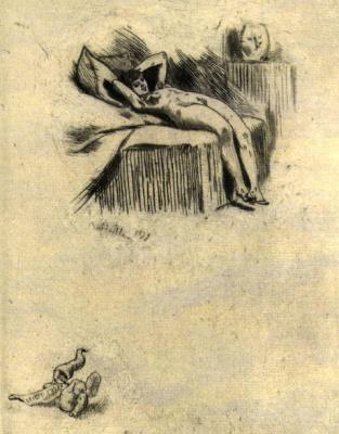 Фелисьен Ропс. Сюжет 23