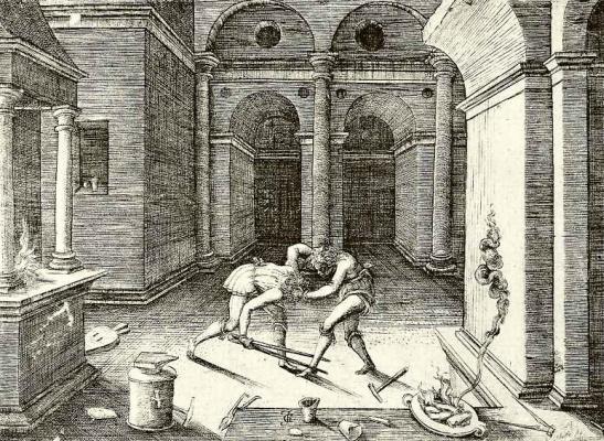 Жан де Гурмон. Драка