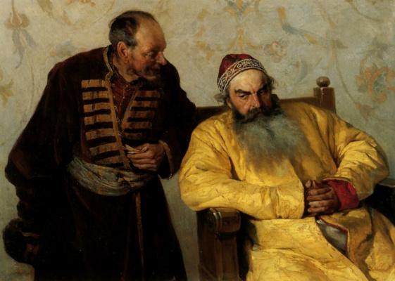 Клавдий Васильевич Лебедев. К боярину с наветом