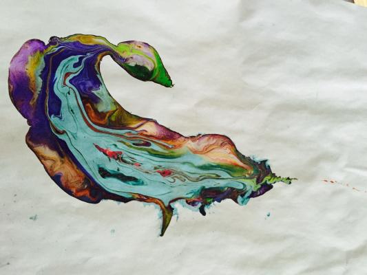 Мария Лавриченко. Водяная лилия