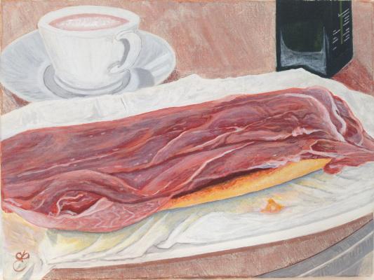 Dmitry Eremenko. Spanish breakfast