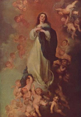 Бартоломе Эстебан Мурильо. Явление непорочной Марии