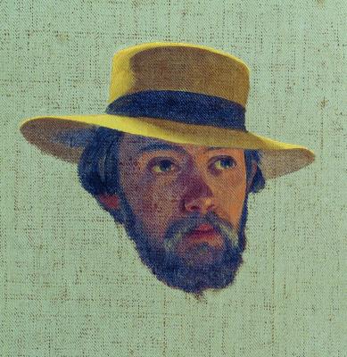Федор Андреевич Бронников. Автопортрет. 1858 Этюд