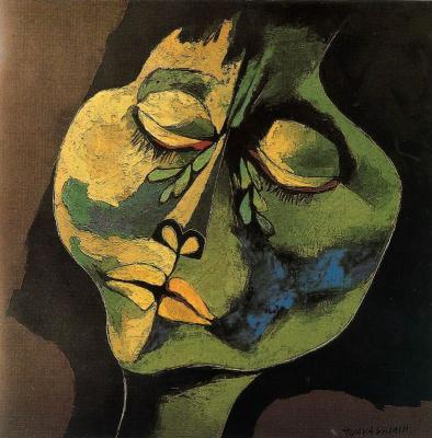 Освальдо Гуаясамин. Портрет 37