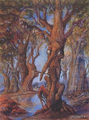 Фрэнк Диксон. Маленькие деревья