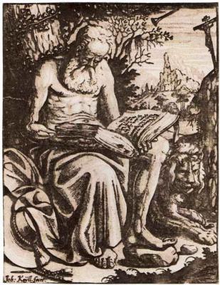 Иоганн Кейль. Святой Иероним