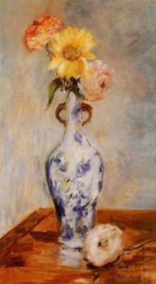Berthe Morisot. Blue vase